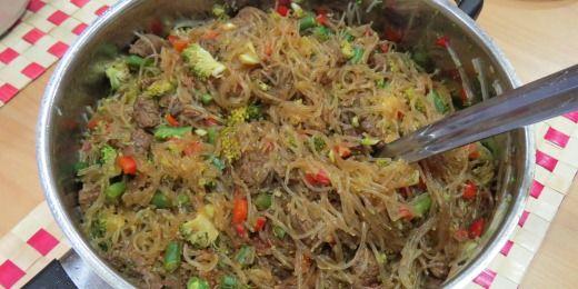 Audrey's Sapasui (chop suey)