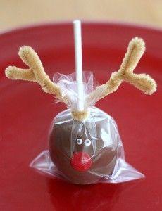 Christmas Cake Pops.Vielleicht als kleine Aufmerksamkeit für die Erzieherinnen in der Kita?