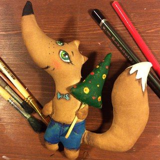 Кофейные сказки. Ароматные игрушки из ткани. | ВКонтакте