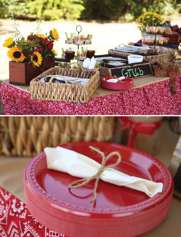 Classic Country Western Cowgirl Birthday Party // Hostess with the ...