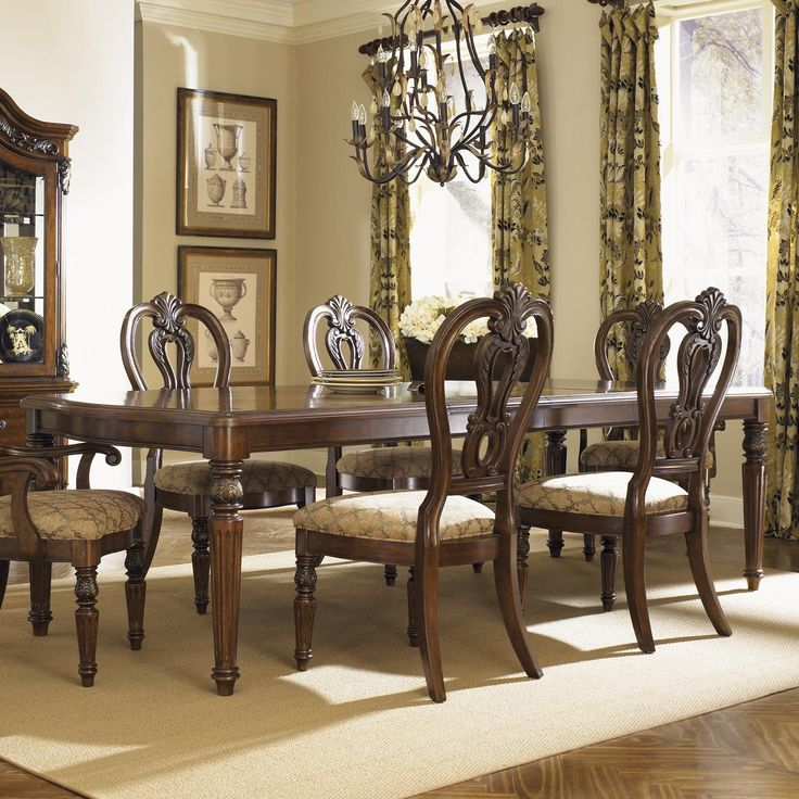 17 Best images about 10 formal dining room table settings on Pinterest Queen anne, Hanging