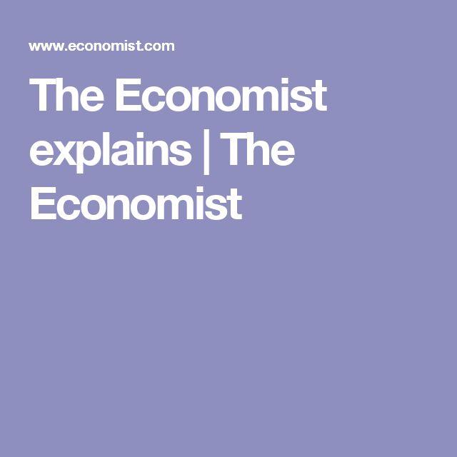 The Economist explains | The Economist