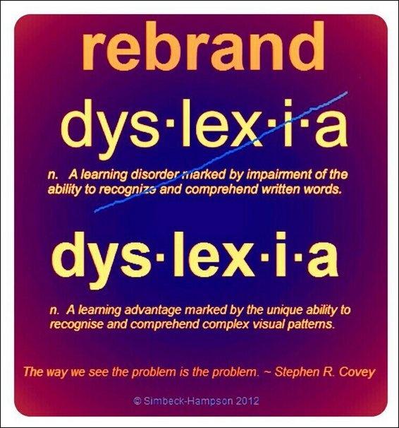 Dyslexia Untied: Dyslexia: Rebranded