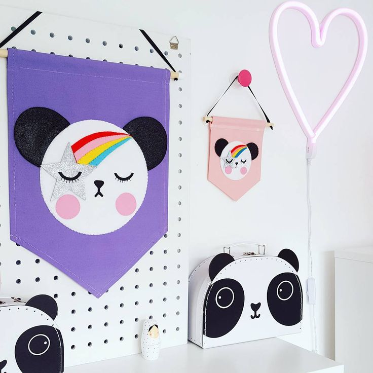 "82 Likes, 3 Comments - J e s s • Noodle doll Nelly • (@noodledollnelly) on Instagram: ""Loved making this custom panda banner! The little one is our usual mini banner and the big one is…"""