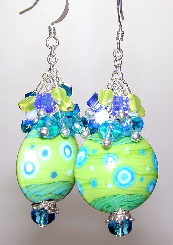 Jensen Beach Beads & Jewelry. These look cute. Gonna have to make them.