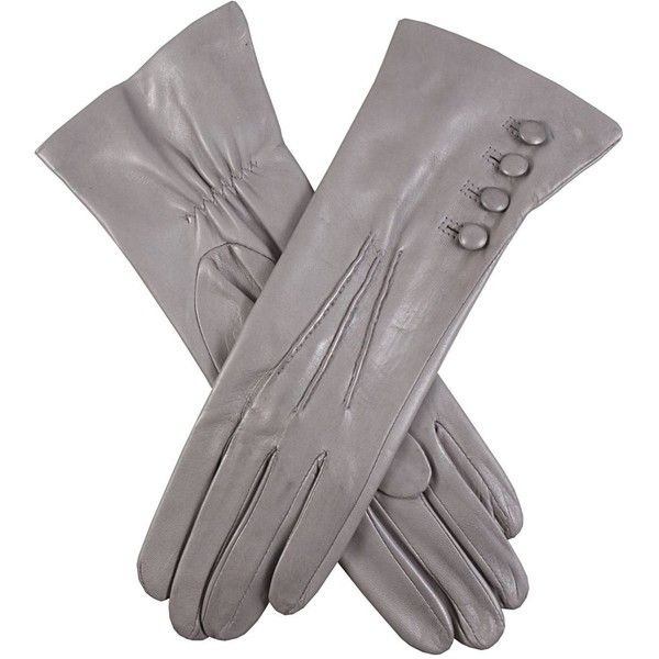 Dents Ladies leather gloves, 4 bl, with silk lining ($78) ❤ liked on Polyvore featuring accessories, gloves, guantes, women, перчатки, leather gloves, dents gloves, real leather gloves, silk lined leather gloves and silk lined gloves