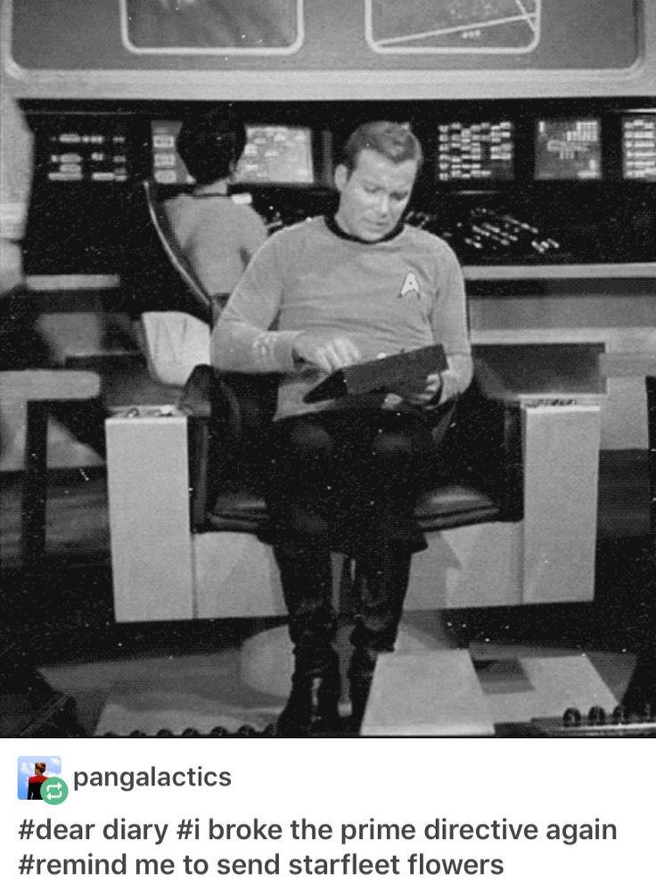 Dammit, Jim...