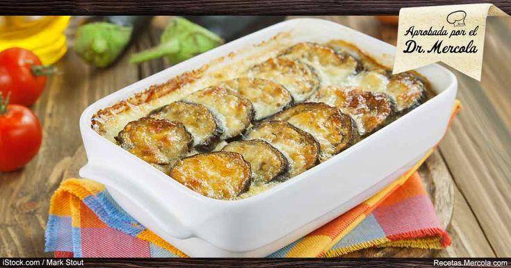 Disfrute de la cremosa bondad de esta receta de moussaka de berenjena que no solo le hará chuparse los dedos, sino también beneficiara su salud.