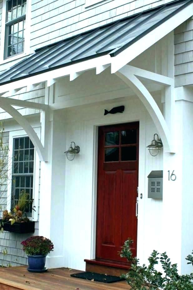 For Basement Walkout With Images House Exterior Porch Awning