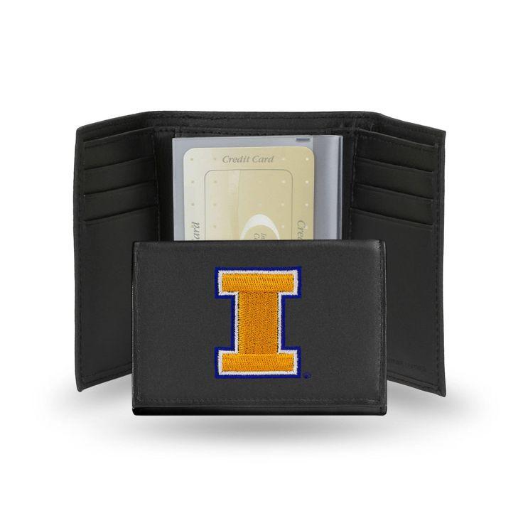 Rico Industries Illinois Fighting Illini Men's Tri-fold Wallet