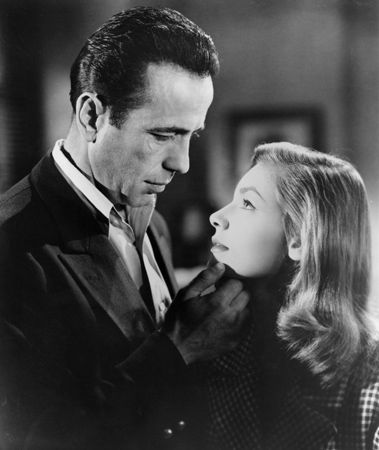 when did humphrey bogart and lauren bacall meet