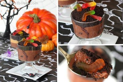 dirt 'n worms: Halloween Party Foods, Holidays, Halloween Food, Halloween Treats, Easy Halloween, Party Ideas, Halloween Ideas, Parties Food