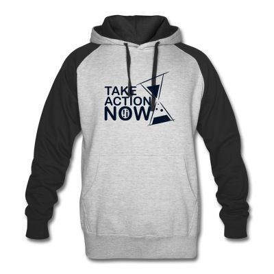 take-action-small hoodie | Stop Wishing