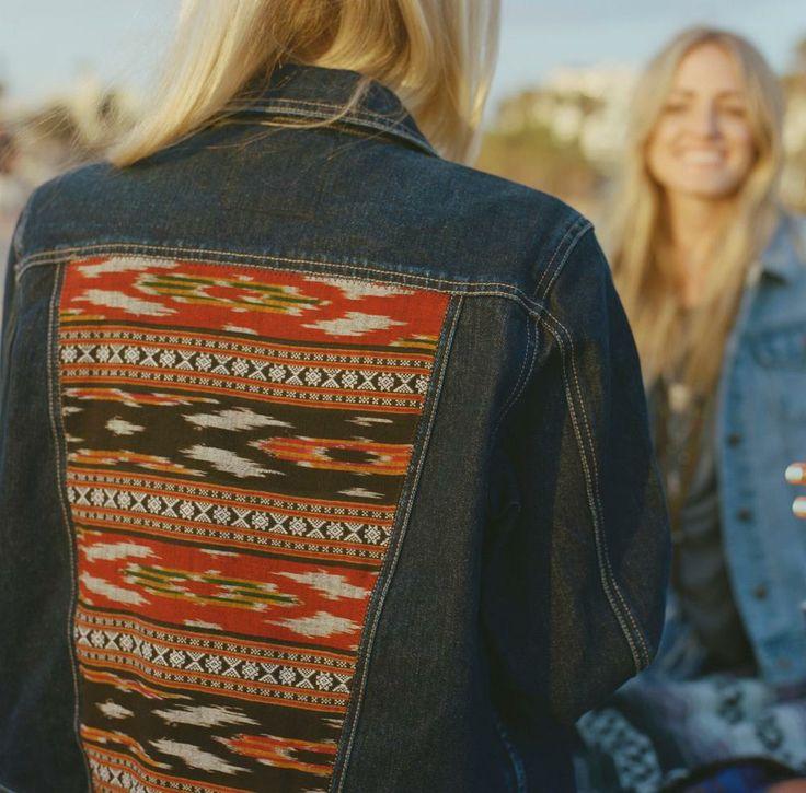 Snag a custom jean jacket.
