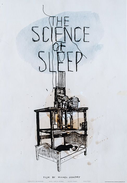 Marcelina Amelia, The Science of Sleep (Directed by Michel Gondry), 2015, Size: B1