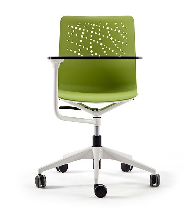 Chair with flap with Casters Urban Collection by ACTIU   design Javier Cuñado