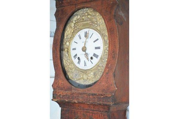 19th Century Morbier Longcase Clock | Vinterior London  #antique #time #vintage #interiors #design #original #home