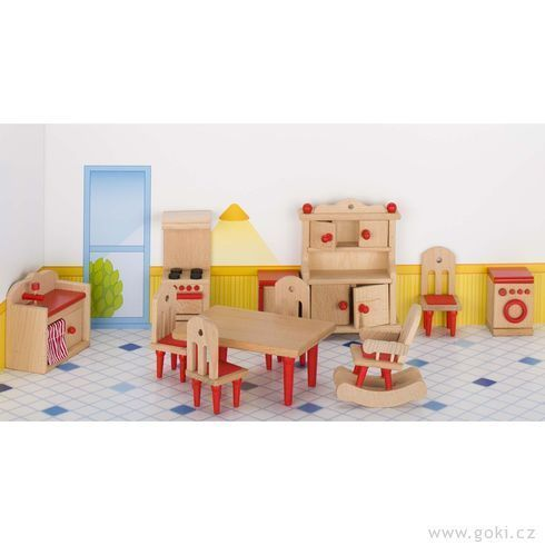 Nábytek pro panenky – kuchyň - DesignProDeti.Cz