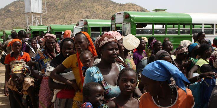 Miles de personas desplazadas que huyen del conflicto entre Boko Haram y las fuerzas armadas buscan refugio, agua y comida en Pulka, una pequeña localidad en Nigeria. Pero ahora mismo Pulka no da para más y las necesidades básicas son cada vez mayores.