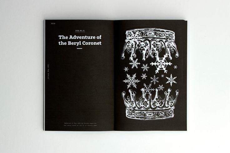 Marcin Krawczyk - Sherlock Holmes (Short Stories) - Book - Editorial Design
