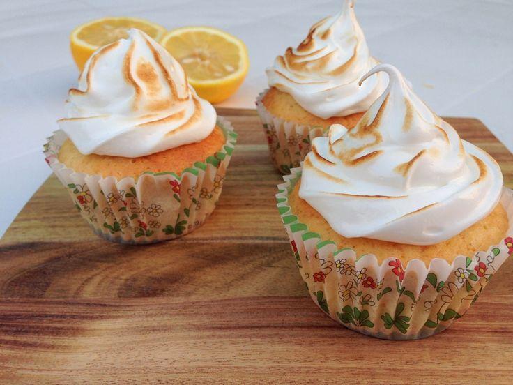 Citron cupcakes med marengs - Madling.dk - En blog om mad, opskrifter og børneudflugter