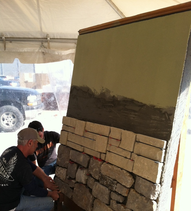 Did you know LATICRETE has a Masonry Veneer Installation System? What kind of masonry projects do you need completed around your house?