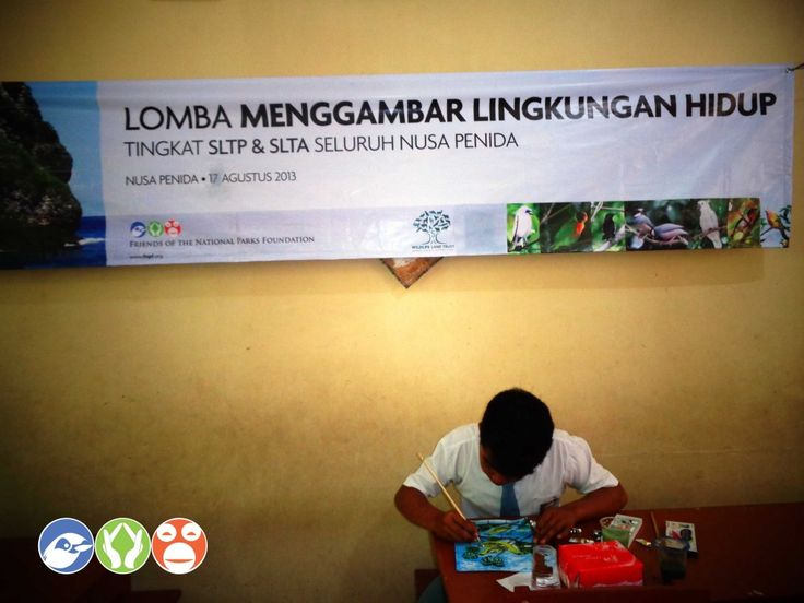 Independence Day Competitions on Nusa Penida help Students and Community Learn about Conservation and the Environment