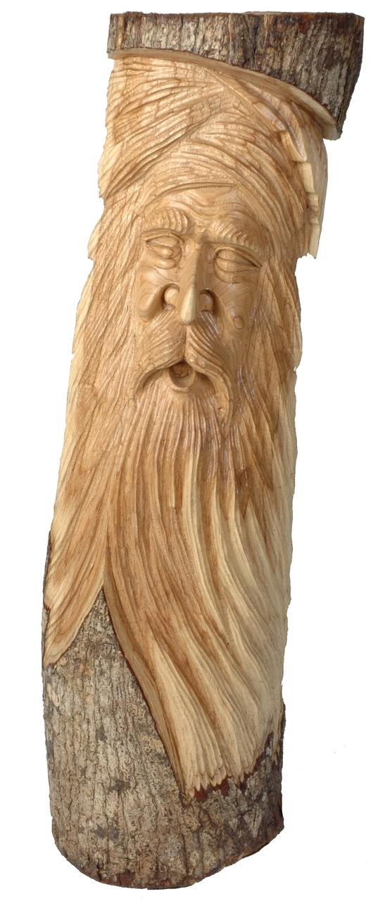 Borucan carved face http backyardbirder