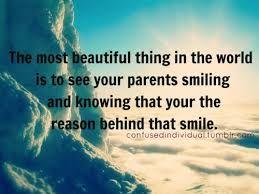 Parental love is infinite