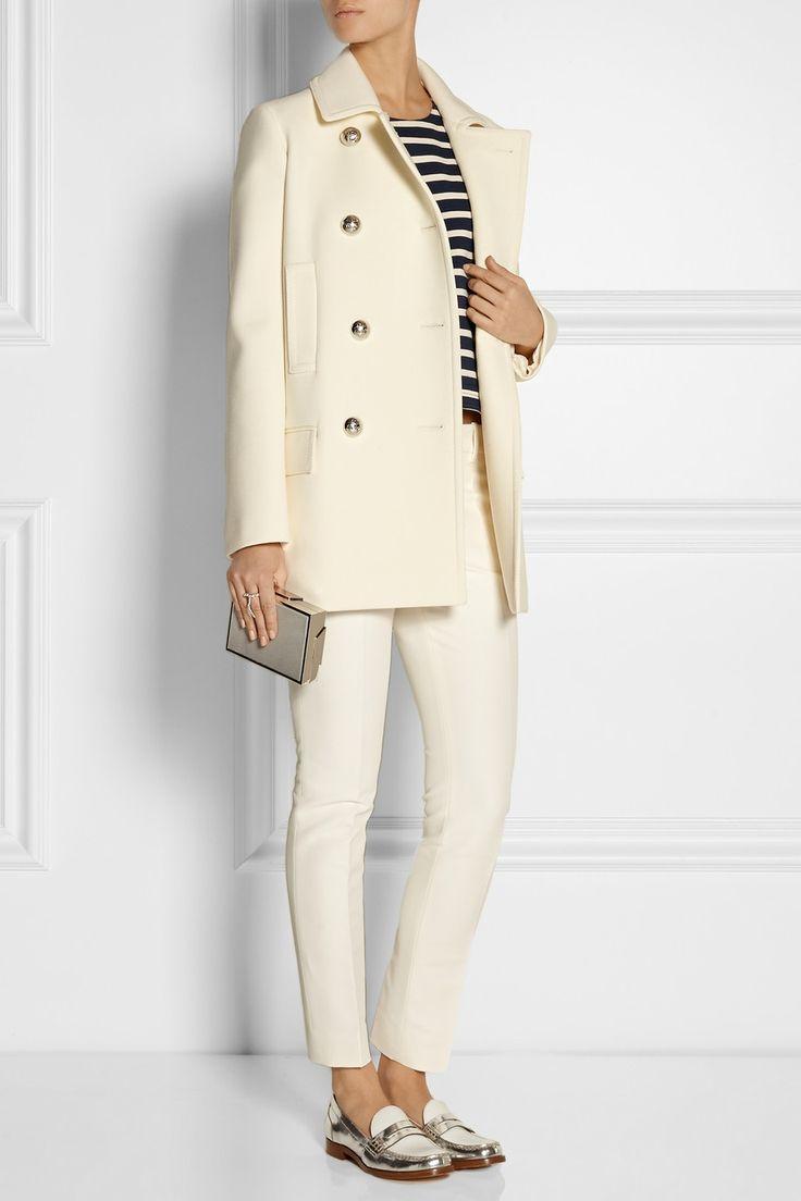 Gucci | jaquetão de lã-crepe | NET-A-PORTER.COM