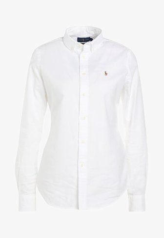 21614b3a7260 OXFORD SLIM FIT - Skjorta - white | Polo ralph lauren