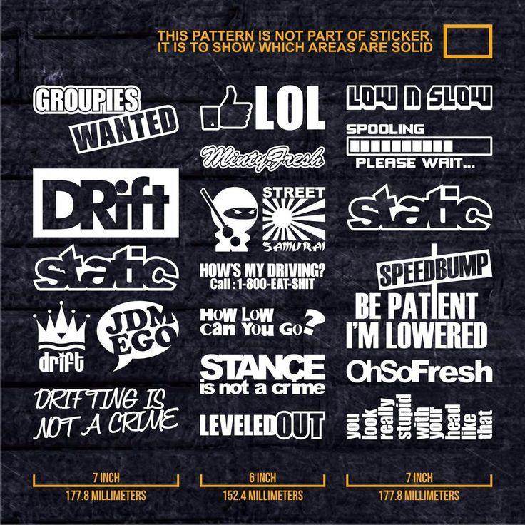 Best Car Images On Pinterest Jdm Stickers Sticker Bomb And - Lexus custom vinyl decals for carthe shocker vinyl decal sticker jdm drifting nissan toyota honda