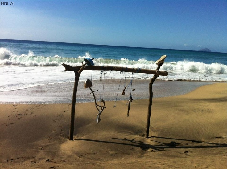 599 best montserrat british west indies images on for Black sand beach caribbean