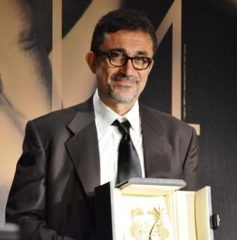 """Turkish director Nuri Bilge Ceylan took home the Palme d'Or this year with his outstanding achievement, Winter Sleep. No surprise here at Cannes, where this 3 ½ hour film was the buzz all week. """"It goes beyond the others,"""" said one journalist. """"It makes you think about so many things."""" Or as Jane Campion, head of the jury, explained this evening: """"I saw it as a Chekhov story where the characters torture each other. It has a beautiful rhythm that takes you in."""""""