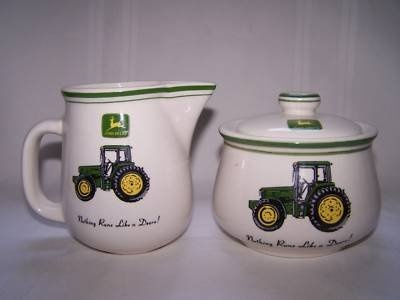I think I need these for my John Deere Kitchen. I have the plates, cups, glasses, canister set, and silver ware....how do I not have these???