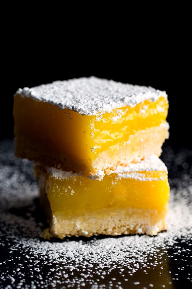 Traditional lemon bars balance the tangy sweetness of lemon curd with a rich shortbread crust. This recipe adds extra notes of flavor to the mix: the compelling bitterness of good olive oil and a touch of sea salt sprinkled on top. Click to read the complete recipe. (Photo: Andrew Scrivani for The New York Times)