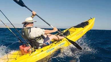 Prowler big game angler ocean kayak things i like for Fishing kayak for big guys