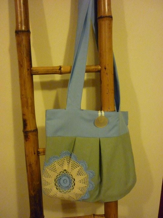 Lynley's custom bag from Bec's Bags!!  Pretty, functional & beautifully hand-crafted to order!!  <3