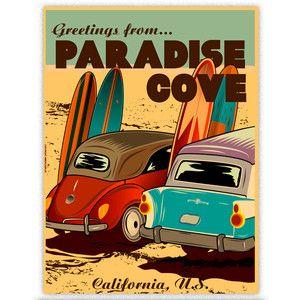 Paradise Cove Print