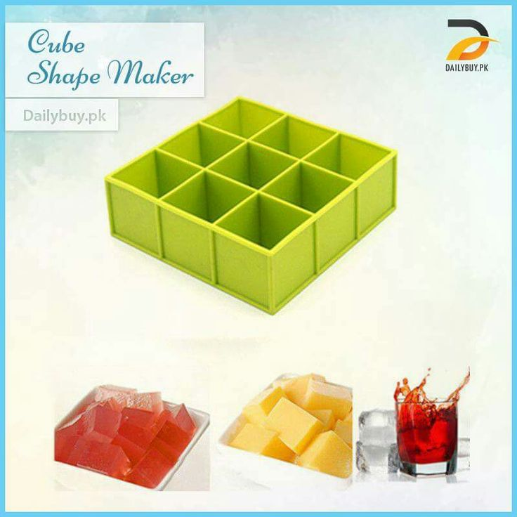 Makes your drinks look awesome while keeping it cooler longer. These super size ice cube trays make a fantastic gift for the cocktail lover and impressive at holiday parties.  Shop Online https://dailybuy.pk/product-detail/Cube-Shape-Maker Call/WhatsApp 0300-2632459  #OnlineShopping #Dailybuypk #KitchenAccessories #CubeShapeMaker #Molds #Trays