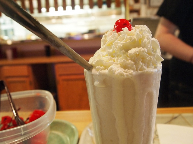 Banana Tolly Ho Milkshake by Emmeline Prufrock, via Flickr