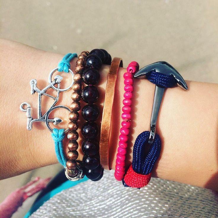 Breaktime nautical bracelets...