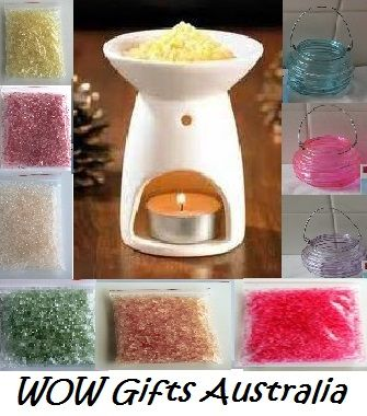 No one else in Australia sells Simmering Scented Crystals. Made in Australia. Excellent reviews. Try and if not happy, we will give a full refund. 100% satisfaction http://stores.ebay.com.au/WOW-Gifts-Australia