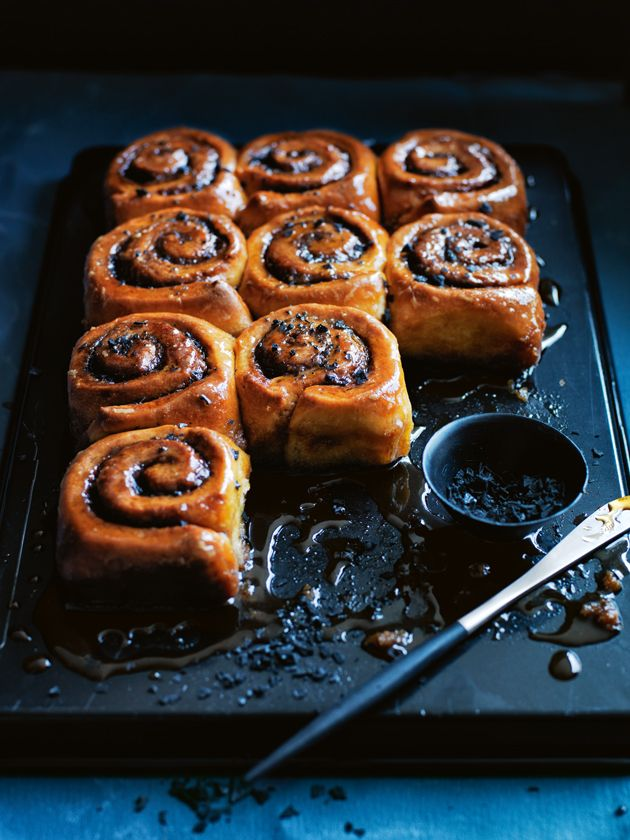 burnt butter and salted maple sticky buns from donna hay magazine issue 80 Autumn 2015