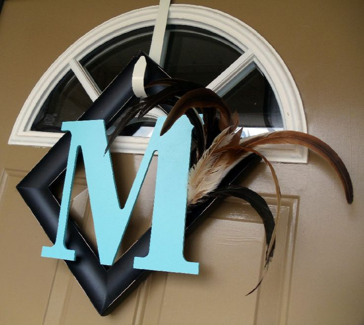 10 things i cant wait to make - Monogram Picture Frame