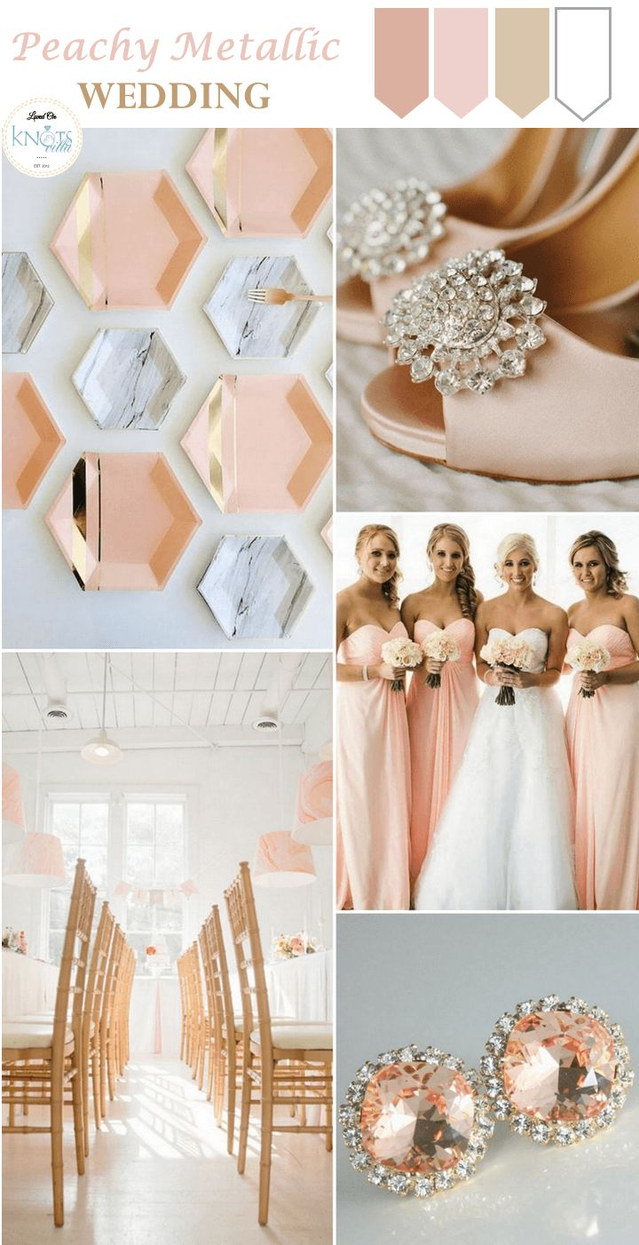Perfect Wedding Peach Theme Collection - The Wedding Ideas ...