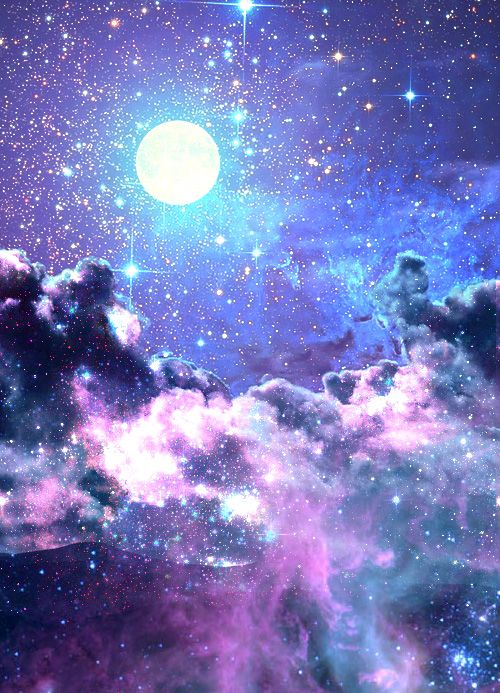 astronomy, outer space, space, universe, stars, moons, clouds