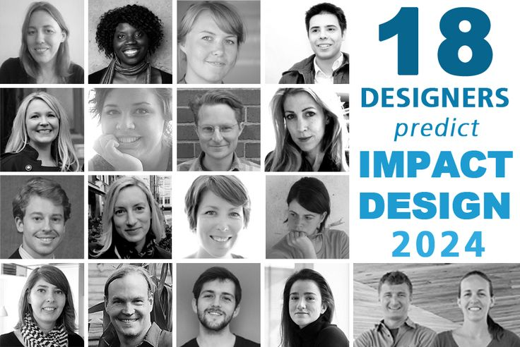 How will public interest/impact design look in 2024? 18 emerging and established practitioners weigh in for our first round-up.