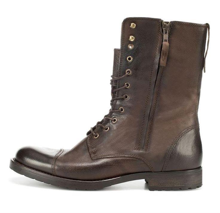 Зимняя мужская обувь сапоги