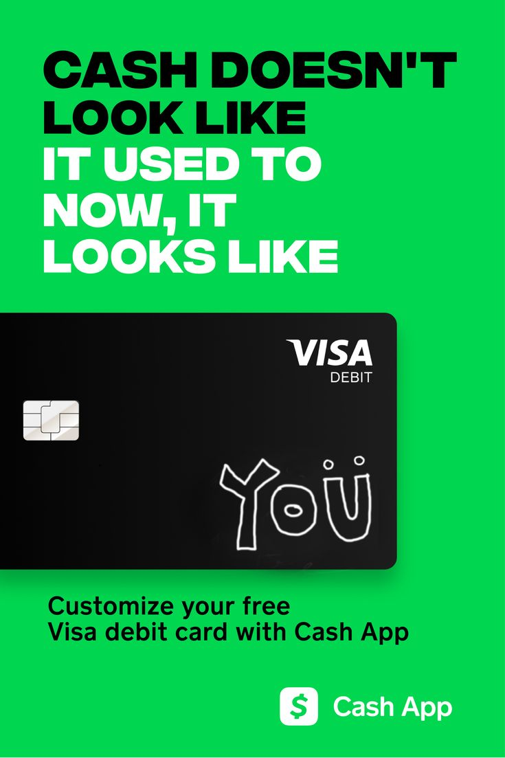 Customize your free visa debit card with cash app with